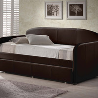 1613-springfield-daybed-w-trundle-brown - Free Shipping!