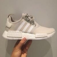 """""""Adidas"""" NMD Trending Fashion Casual Sports Shoes Beige"""
