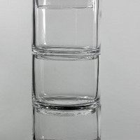 Stacked Apothecary Jars Set of 3 Glass Apothecary Jars $12