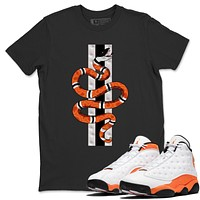 Snake T-Shirt - Air Jordan 13 Starfish