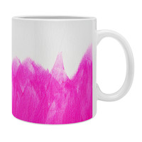Allyson Johnson Pink Brushed Coffee Mug