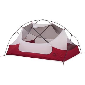 MSR Hubba Hubba NX 2-Person Lightweight Backpacking Tent With Xtreme Waterproof Coating