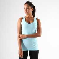 Gymshark Tempo Vest II - Pale Turquoise