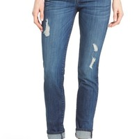 KUT from the Kloth 'Catherine' Distressed Stretch Boyfriend Jeans (Yearn) (Regular & Petite) | Nordstrom