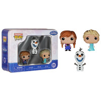 Funko Pocket POP! Tin - Disney - FROZEN (Anna, Elsa & Olaf) (Pre-Order ships Jan.): BBToyStore.com - Toys, Plush, Trading Cards, Action Figures & Games online retail store shop sale