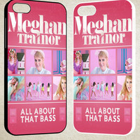 Meghan trainor all about that bass F0524 iPhone 4S 5S 5C 6 6Plus, iPod 4 5, LG G2 G3, Sony Z2 Case