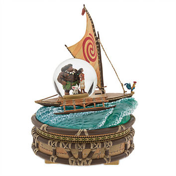 Disney Store Moana Musical We Know the Way Snowglobe New with Box
