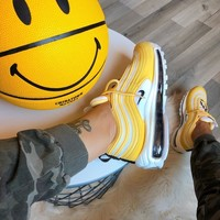 shosouvenir Nike Air Max 97 air cushion yellow Gym shoes