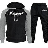 Pullover Sets Men Tracksuits Casual Hoodies Pants Mens Sportswear Pant Hoody Sweatshirt Male Suits Jogging Sweatpant 2 Pcs