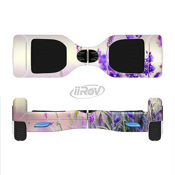 The Lavender Flower Bed Full-Body Skin Set for the Smart Drifting SuperCharged iiRov HoverBoard