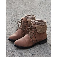 The Nor'Easter Boots in Tan