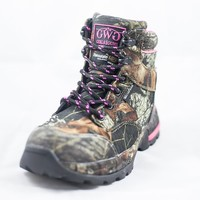"""Huntress 6"""" Boot Camo - Insulated 