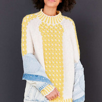 BDG 3D Cable Knit Pullover Sweater - Urban Outfitters