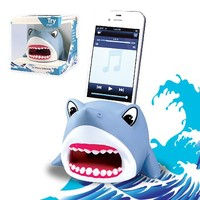 DCI Boom Buddies Shark Powerless Amplifier for iPhone 4/4s/5/5s - Retail Packaging - Blue