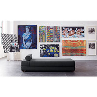 lubi graphite sleeper daybed in bedroom furniture | CB2