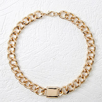Chain Collar Necklace - NEW ARRIVALS - ACCESSORIES - 1000096234 - Forever 21 UK