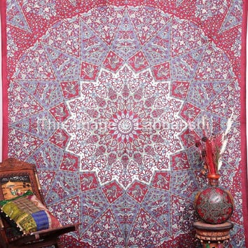 Hippie Tapestries , Psychedelic Tapestry ,Sun and Moon Tapestry,bohemian tapestries, Throw Bedspread Queen Bed Decor Ethnic Decorative Art