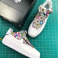 Takashi Murakami X Doraemon X Nike Air Force 1 Low Fashion Shoes - Best Online Sale