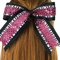 Sequin and Novelty Streamer Bow