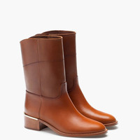 CREST LEATHER BOOT - View all - Shoes - WOMEN - Italy