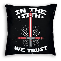 In the Sith We Trust Pillow – six 3