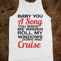 BABY YOU A SONG