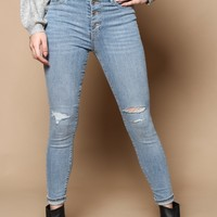 Levi's Mile High Super Skinny Ankle