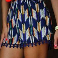 Keep Your Promise Shorts: Navy | Hope's