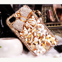 iPhone 4 Case, iPhone 4s Case, iPhone 5 Case, iPhone 5 bling Case, Bling iPhone 4 case, Unique iphone 4 case, iphone 4 case bow, iphone 5