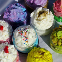 Whipped Body Soaps- Set Of 10- 2oz - Great Party Favours