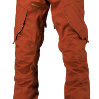 Volcom Articulated Snowboard Pant - Rust
