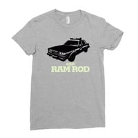 car ramrod Ladies Fitted T-Shirt