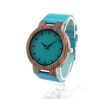 High Quality Bamboo Wood Watch For Men And Women Japanese miytor Quartz Analog Casual Watch With Gift Box