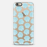 BLUE CLAM SHELLS iPhone 6 case by Katie Reed   Casetify