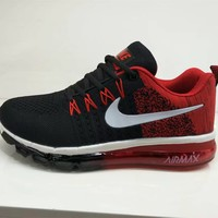 """Nike Air Max"" Men Sport Casual Multicolor Flyknit Air Cushion Running Shoes Fashion Sneakers"