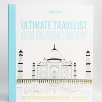 Lonely Planet Ultimate Travelist Colouring Book at asos.com