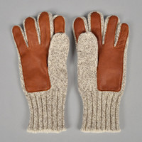 fox river - ragg wool and leather gloves