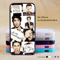 One Direction Star Phone Case For iPhone 6 Plus For iPhone 6 For iPhone 5/5S For iPhone 4/4S For iPhone 5C iPhone X 8 8 Plus