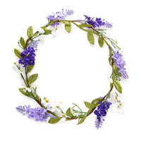 Jasmine & Lavender Flower Crown