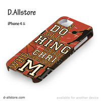 I Can Do All Things Basketball for Iphone 4/4S Iphone 5/5S/5C Iphone 6/6S/6S Plus/6 Plus 3D Phone case