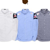 Men Print Casual Shirt [211461931020]