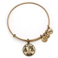 Alex and Ani Libra Charm Bangle Bracelet - Rafaelian Gold Finish