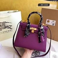1057 Hermes Fashion Classic Handle Kelly Bag Shoulder Bag Size 19-14cm