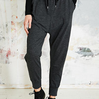 Sparkle & Fade Drop Crotch Sweat Pants in Charcoal - Urban Outfitters