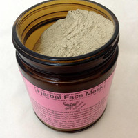 Herbal Face Mask-Organic-75% Fine ground herbs, extra-strength skin care mask!