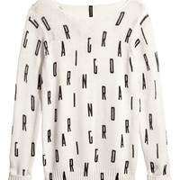 Knitted jumper - from H&M