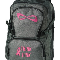 Nfinity Sparkle Think Pink Backpack | Team Cheer