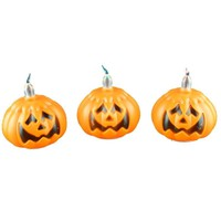 2018 Classic Candle Lantern Pumpkin Small LED Durable Indoor Candle Lamp Candle Lantern Halloween Party Decoration