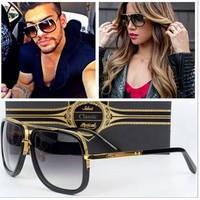Trendy Celebrity Mirrored Sun Glasses