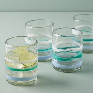Anthropologie Pipiry Set of 4 Double Old Fashioned Glasses | Nordstrom